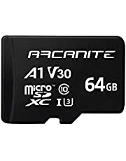 【Amazon.co.jp 限定】アルカナイト(ARCANITE) microSDXCカード、UHS-I U3、V30、4K、C10、SD