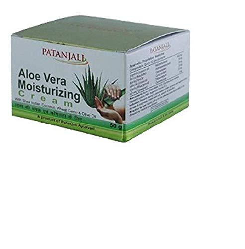 Patanjali Aloevera Moisturizing Cream (50G) (Pack Of 2)