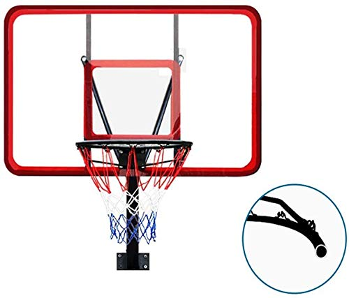 Tragbarer Basketballständer Kinder Basketball Backboard, Basketballständer Adult Outdoor Standardhöhe Outdoor Wandbehang Korb Indoor Basketball Box