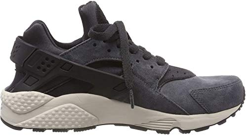 Nike Herren AIR Huarache Run PRM Fitnessschuhe, Mehrfarbig (Anthracite Light Bone/Black 016), 42.5 EU