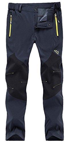 FunnySun Women's Outdoor Lightweight Quick Dry Slim Fit Hiking Mountain Pants,16606W Dark Grey M