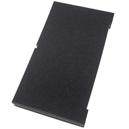 vhbw Pieza de espuma compatible con Dewalt Tough-Box DS150, DS300, DS400 caja de herramientas - personalizable, 2 capas, espuma