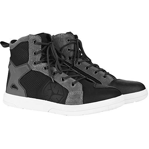 Scoyco chaussures de moto hommes, chaussures de moto casual sneaker, chaussures de moto décontractées avec semelles antidérapantes, bottes de moto zone de cheville renforcée
