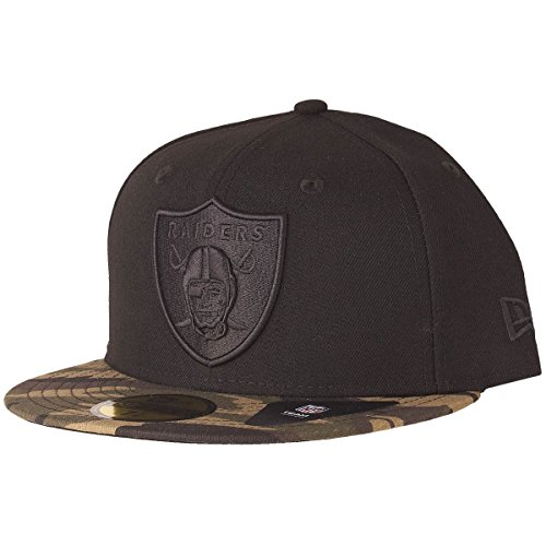 New Era 59Fifty Fitted Cap - Wood CAMO Oakland Raiders 7 3/8
