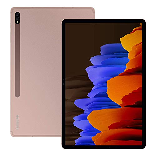 Samsung Galaxy Tab S7+ 5G Android Tablet Mystic - Bronze (UK Version) (Renewed)