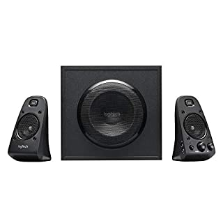 Logitech Z623 Lautsprecher-System mit Subwoofer, Satter Bass, 400 Watt Spitzenleistung, THX-Zertifiziert, 3,5 mm & Cinch-Eingänge, Multi-Device, EU Stecker, PC/PS4/Xbox/TV/Smartphone/Tablet - schwarz (B003UPJXIC) | Amazon price tracker / tracking, Amazon price history charts, Amazon price watches, Amazon price drop alerts