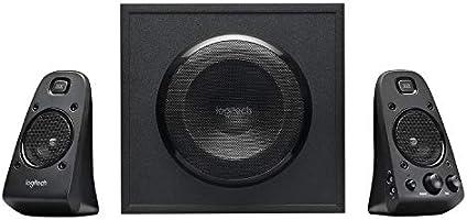 Logitech Z623 THX 2.1 högtalarsystem med subwoofer, THX-certifierat ljud, 400 watt toppeffekt, djup bas, multi-enhet...