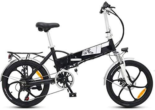 Alta velocidad 20 pulgadas Bicicletas eléctricas de bicicletas, bicicletas plegables 48V10.4A LCD marco de aleación de aluminio de bicicletas pantalla adultas Deportes ciclo al aire libre