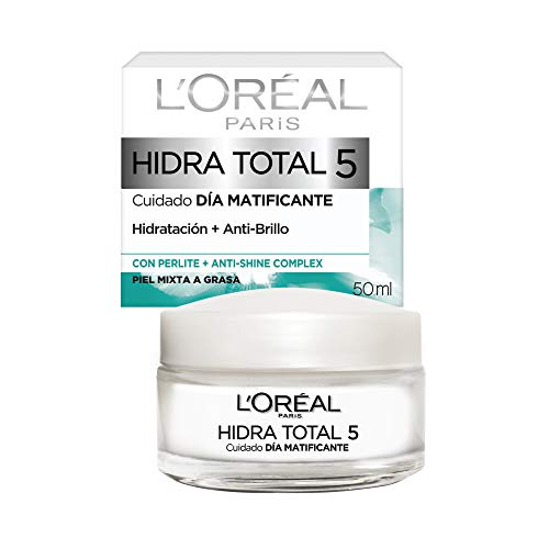L'Oreal Paris Crema Hidratante, Piel Mixta Hidra Total5, 50 ml