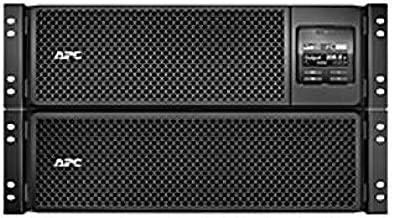 APC by Schneider Electric Smart-UPS SRT 8000VA RM 208V - 8000 VA/8000 W - 208 V AC - 5 Minute Stand-by Time - 6U Rack-mountable - 1 x Hard Wire 3-Wire (2PH + G), 4 x NEMA (Certified Refurbished)