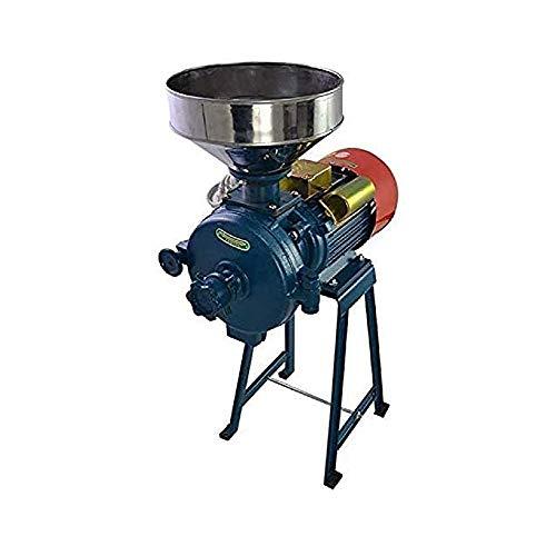 LRHD 220V y Abra la Cubierta libere de la protección eléctrica 1500w Grano Grinder, 1400 RPM de Hierbas/Especias/Tuerca/alimentación, Hierro galvanizado Molino con Embudo, Conveniente for el com