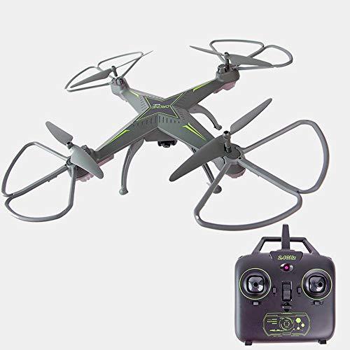 FESVW NO Drone, Opvouwbare Drone, Met WiFi-camera HD Live-uitzending - Return Home, Tot 5 Miljoen Pixels Grijs