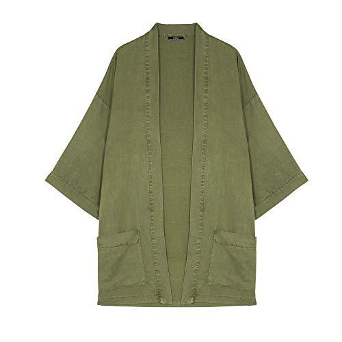 Parfois - Kimono - Mujeres - Tallas Única - Caqui