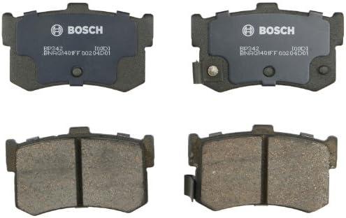 メーカー公式 Bosch 正規激安 BP342 QuietCast Premium Semi-Metallic Set Disc Brake Pad F