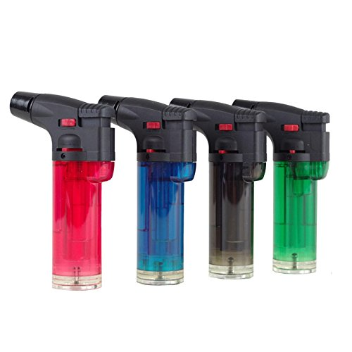 Sturmfeuerzeug Jet Feuerzeug nachfüllbar Mini Gasbrenner Flambierer Jetflamme