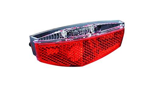 Büchel LED Gepäckträgerrücklicht Tivoli, Standlichtfunktion, schwarz, 50752