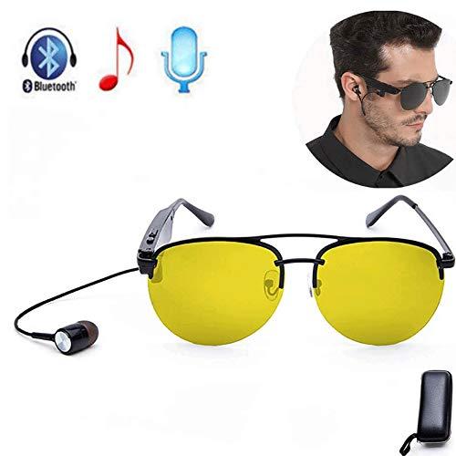 Nacht bot bluetooth bril Bluetooth zonnebril, Special Zonnebril Driving New Concept gepolariseerde zonnebril, New Concept Trendy zonnebrillen, kunt luisteren naar Songs en bellen Smart