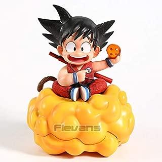 16cm (6.3 inch) - Child Kid Son Goku on Nimbus Cloud PVC Figure (A)