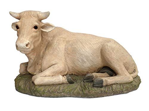 Ferrari & Arrighetti Statue presepe: Bue Linea Martino Landi per presepio da cm 50