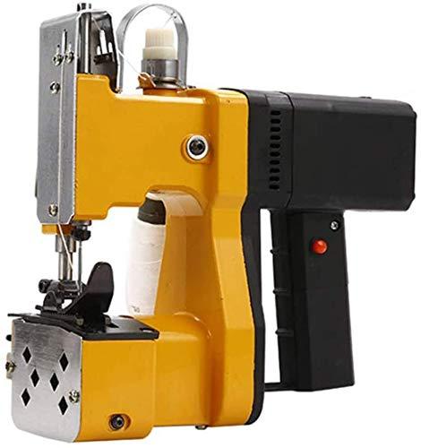 Máquina de cierre de bolsas 2s / bolsa Cierre de bolsas portátil 2.9KG Máquina de coser de bolsas eléctrica Máquina automática de embalaje de alcantarillado de bolsas tejidas para arpillera
