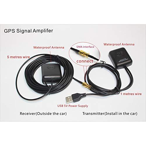 Auto GPS Actieve Remote Antenna GPS Signaal Versterker Ontvanger zender USB-aansluiting Versterking van het GPS-signaal voor het navigatiesysteem