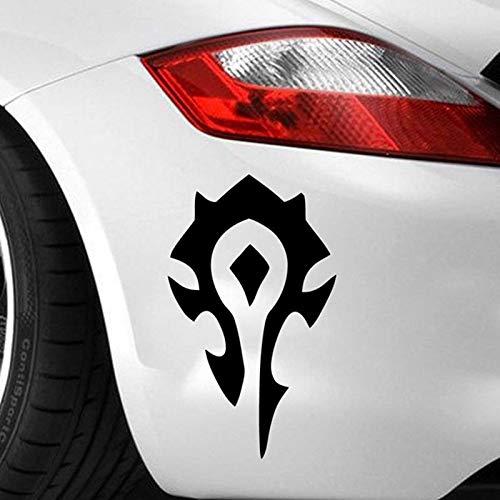 Pegatina De Pared Etiqueta Engomada Del Coche Símbolo De La Horda Calcomanías Wow World Game Warcraftgame Mural De La Computadora Portátil Del Coche
