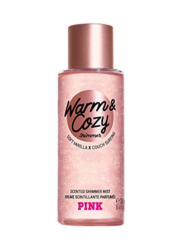 Victoria' s Secret Pink New. Warm & Cozy Shimmer Body mist 250 ml