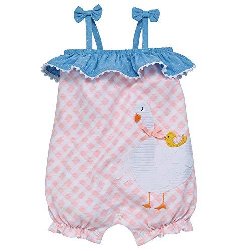 Mud Pie Baby Girls' Classic, Pink, White, Blue, 6-9 Months