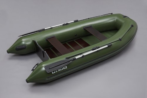 L-320 cm Schlauchboot, Boot Angelboot (grün) mit Lattenboden Bengar Lotus