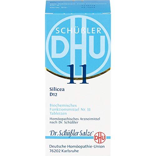 BIOCHEMIE DHU 11 Silicea D 12 Tabletten 200 St