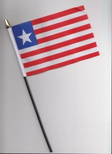 Liberia-Flagge, 25 cm
