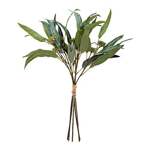 Kunstbloemen Eucalyptus Bladeren En Fruit, Nordic Ins Stijl Geschikt voor Office Home Study Vergaderzaal Keuken Vensterbank Decoratie