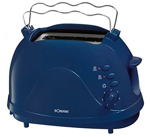 Bomann TA 246 CB Toastautomat, blau