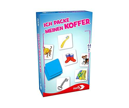 noris 606094227 Ich packe Meinen Koffer Mitbringspiel