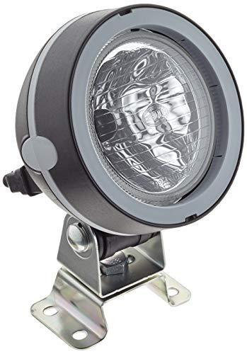 Hella 1GM 996 134-081 Arbeitsscheinwerfer - Mega Beam - FF/Halogen - H3 - 12V/24V - AMP-Anschluss/Anbau/Steckanschluss - stehend - Geländeausleuchtung - AMP
