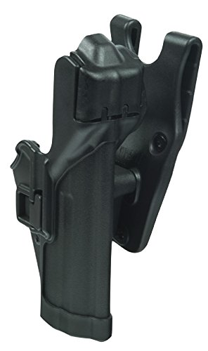 Holster Level3 Duty Holster H&K SFP9/VP9, Paddle, Schwarz, Rechts