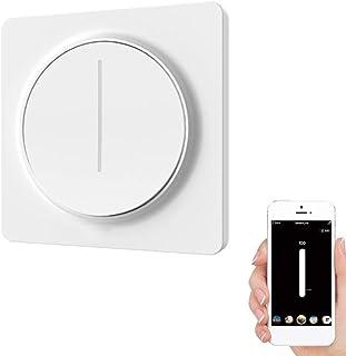 EU ZigBee Touch Light Dimmer Switch, Smart Draaischakelaar, Touch Control, Afstandsbediening Smart Home, Smart Life/Tuya A...