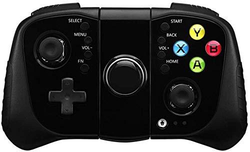 ZGYQGOO Manette Jeu PS4, combiné pour Manette Chargement rapiUSB, Manette Jeu sans Fil, Manette Jeu sans Fil, Manette Jeu, compatibilité pour Les téléphones Android et iOS, Noir