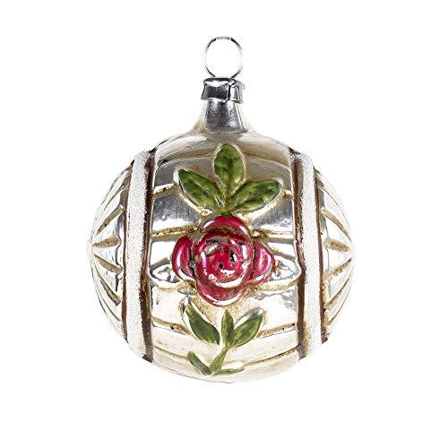 MAROLIN Glass Ornament Sun Wheel