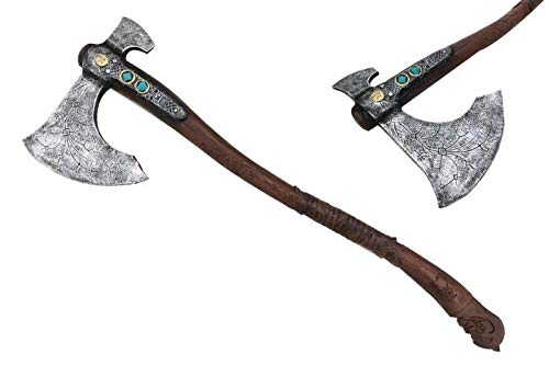 """Mingshao 36.5"""" God is of on The War Foam Kratos Axe Cosplay"""