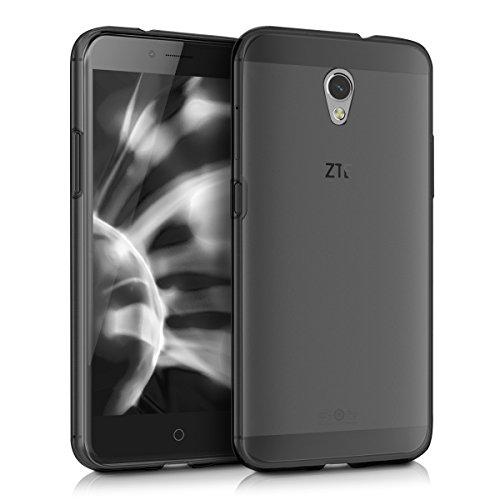 kwmobile Funda Compatible con ZTE Blade V7 (5.2') - Carcasa de TPU para móvil - Cover Trasero en Negro