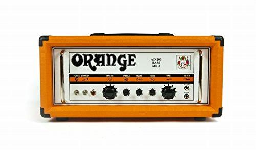 Orange OR AD200B UK Amplificatore per Basso Valvolare 200 Watt in Classe A/B
