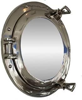 Deluxe Class Chrome Porthole Mirror 12