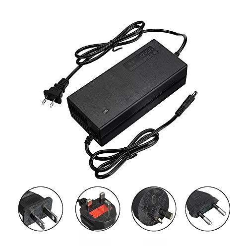 SUIBIAN Elektro-Scooter-Ladegerät, 42V2A Energien-Adapter, Smart Protection, Luftfahrt-Stecker, Geeignet für Xiaomi Scooter, Elektro-Rollstuhl, Etc, Lithium-Batterie-Ladegerät,xiaomi