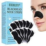 Tiras de espinillas,Tiras Nasales De Eliminación De Puntos Negros,Tiras de limpieza profunda para los poros de la nariz para la eliminación de puntos negros 36 piezas