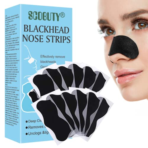 Cerotti Punti Neri,Strisce per punti neri,Strisce per la pulizia profonda dei pori del naso per la rimozione dei punti neri 36 pezzi