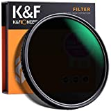 K&F Concept 77mm Fader ND Filter Neutral Density Variable Filter ND2 to ND32 for Camera Le...