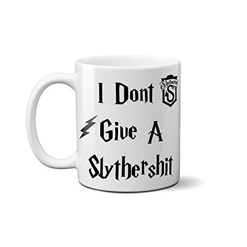 """Tasse mit Aufschrift """"I Don't Give a Slythers**t"""", lustiges Harry-Potter-Zitat, perfektes Geschenk für Geburtstag (Prime)"""