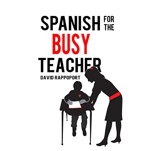 Spanish for the Busy Teacher audiobook cover art