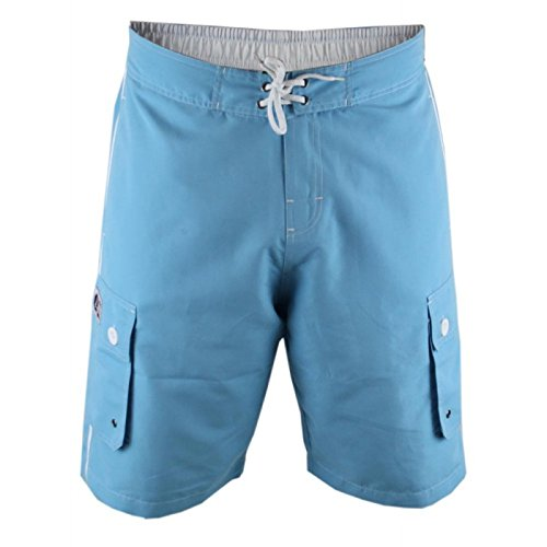 Duke London - Short de Bain - Homme Bleu Aqua